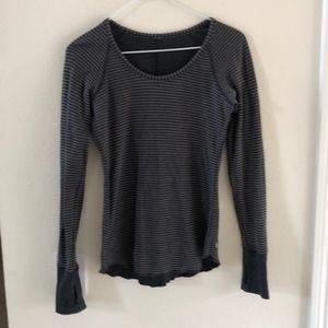 Lululemon Long Sleeve Top Reversible Size 2